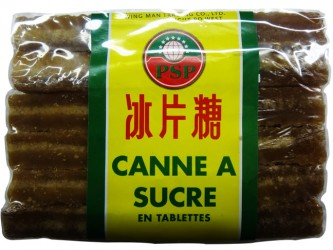 SUCRE DE CANNE EN TABLETTES