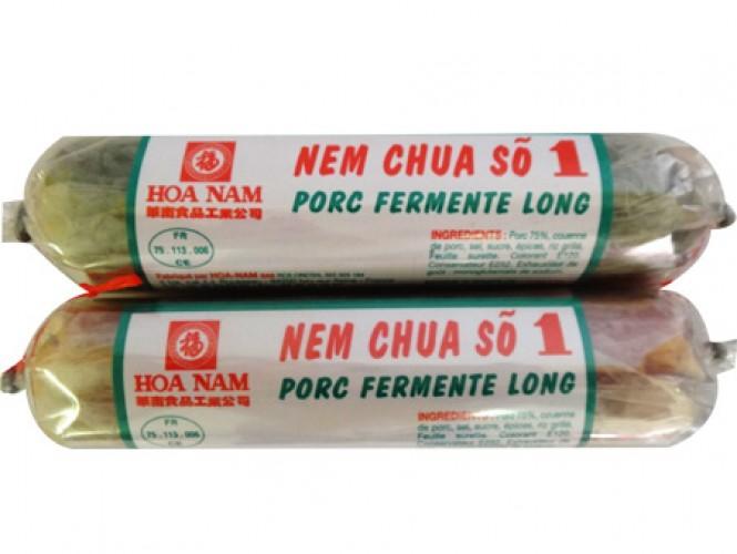 NEM CHUA PORC FERMENTE LONG